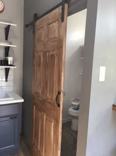 Barn door design ideas from tiny house los angeles for rent Custom Couches, Barn Door Designs, Interior Color Schemes, Inviting Home, At Home Store, Tiny Living, Decorating On A Budget, Cheap Furniture, Colorful Interiors