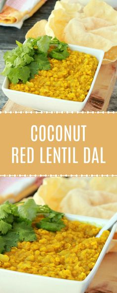 Coconut Red Lentil Dal
