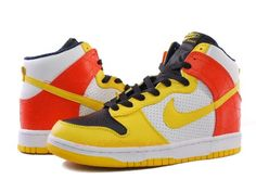 premium selection 18885 db09a Nike Dunk High Premium Orange Yellow White Air Jordan 11 Low, Nike Air  Jordan 11