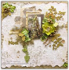 """Di's Creative Space: """"Noel""""Part One of my January DT Reveal for 2Crafty Chipboard"""