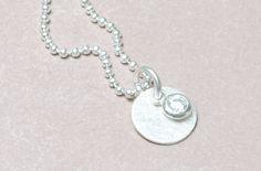 Ketten kurz - Kette 925er Silber Kugelkette - ein Designerstück von Werkart bei DaWanda