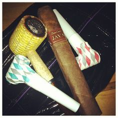 NYE 2013 Pipes Cigars = one awesome night