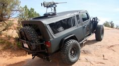 Love these fun mounts on jeeps...  Autocorrect typed fun. I'm leaving it that way ;)