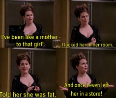 """Karen Walker """"Will & Grace"""". This woman can do no wrong. probably shouldnt find this as funny as i do."""