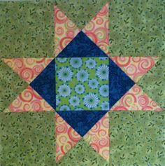 Chock-A-Block Quilt Blocks: August 2011