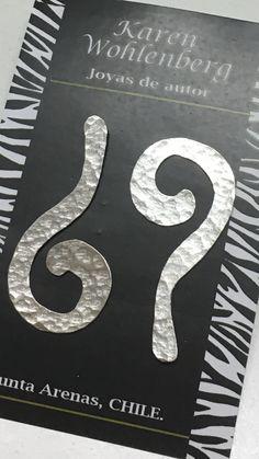 Aros de plata signos de interrogación AR0228