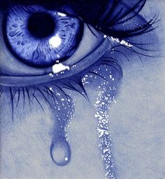 sad eye by Jaime de la Torre (de la torre art) with ballpoint pen - Design Art Pencil Art Drawings, Art Drawings Sketches, Ballpen Drawing, Stylo Art, Tears Art, Crying Eyes, Eyes Artwork, Ballpoint Pen Drawing, Crazy Eyes