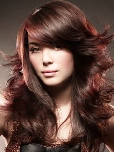 Long Layered Hair Style-Love the cut, love the color!