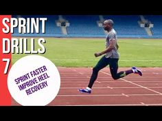 SPRINT DRILLS 7 - HEEL RECOVERY & HOW TO USE IT TO SPRINT FASTER - YouTube Sprint Workout, Speed Workout, Workouts, Running Drills, Running Plan, Track And Field, Being Used, Recovery, Improve Yourself