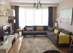 Modern, yaşaması kolay ve canlı. Çok zevkli ve şık bir dekor. Shabby Chic Furniture, Modern Furniture, Furniture Design, Rustic Furniture, Furniture Sale, Antique Furniture, Living Room Designs, Living Room Decor, Living Rooms