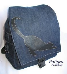 Шьем детские рюкзачки мини МК (из интернета) / Прочие виды рукоделия / Шитье