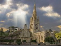 Caught Being Godly: 10 Beautiful Christian Churches Around the World-Witney Church, Oxfordshire