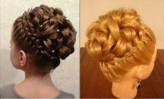 Elegant Braiding Hairstyle With Curls - DIY - AllDayChic