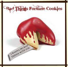 Bad Things Fortune Cookies (or MisFortune Cookies)