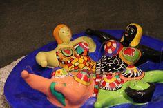 Nanás de Niki de Saint Phalle @ Pinacoteca do Estado de São Paulo