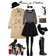"""Paris, Je T'adore"" by beigs on Polyvore"