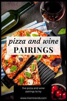 Pairings The best wines to drink with pizza.The best wines to drink with pizza. Easy Drink Recipes, Easy Dinner Recipes, Wine Recipes, Healthy Recipes, Best Wine To Drink, Pizza Recipes, Cooking Recipes, Wine And Pizza, Easy Homemade Pizza