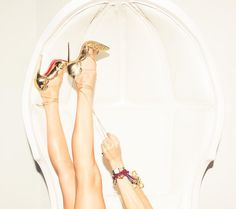 Head over to our blog to read our best tips on how to keep your Louboutins in tip-top shape! Image: @thecoveteur