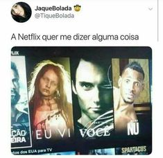 Translation, Does Netflix want to tell me anything? [I saw you naked. Top Memes, Best Memes, Otaku Meme, Prank Videos, Funny Images, Comedy, Nerd, Hilarious, Kawaii