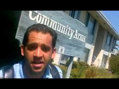 Pasadena poet CO CHOSEN ONE raps in front of Community Arms on Summit & ...