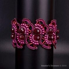 Free Seed Bead Necklace Patterns | FREE SEED BEAD BRACELET PATTERN « Bracelets: Jewelry