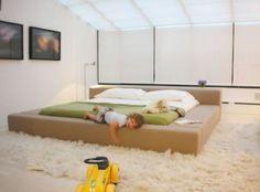 cama baixa design