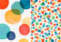 Margaret Berg Art: His Confetti Dots