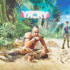 Cover, Far Cry 3 - Vaas Montenegro