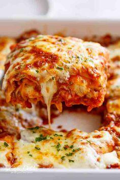 Best Lasagna | cafedelites.com
