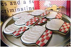 Cute Cookies pizza party