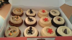 Thanks, Heyo, for the cupcakes!