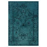 Found it at Wayfair - Renaissance Teal Area Rug