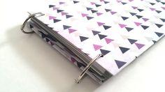 The EVERYTHING Multi-Notebook : Purple Triangles by Atrapasuenos