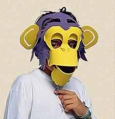Mascara de EVA macaco | por SORRISO DO GATO