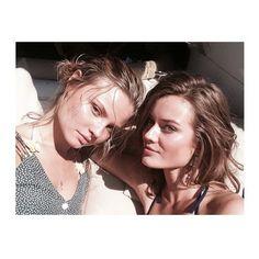 Magdalena Frąckowiak i JAC na jachcie Victoria's Secret, fot. Instagram frackowiak magdalena