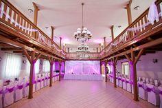 culture house Vrádište, Slovakia - our wedding ballroom