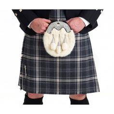 Kilt Hebridean Storm tartan, Ready made kilt