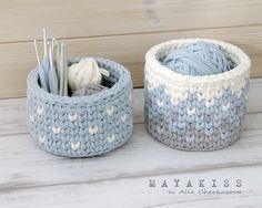 VK is the largest European social network with more than 100 million active users. Diy Crochet Basket, Crochet Bowl, Knit Crochet, Yarn Projects, Crochet Projects, Crochet Decoration, Crochet Bracelet, Crochet Purses, Crochet Accessories
