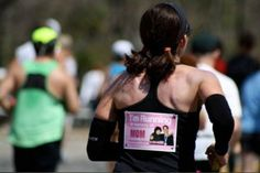 Personalized back bibs for races