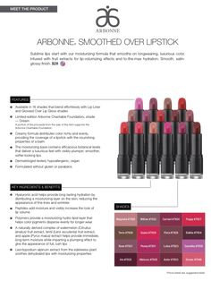 So excited about these gorgeous new #lipsticks! The feel and taste are amazing! Try one today !