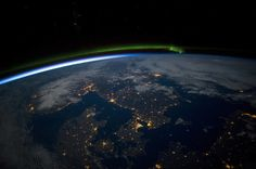 Southern Scandinavia at night - These Are NASA's Favorite Earth Photos Of 2015, And They're Quite Spectacular