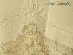 French Laundry Shabby Chic Romantic Cottage <3