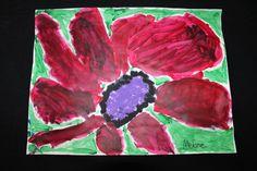 Georgia O'Keeffe Flower by Melanie
