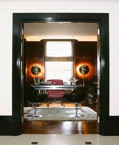 Home office of Tamara Mellon by Martyn Lawrence-Bullard Design