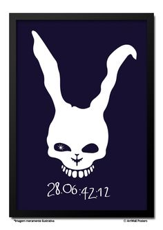 Poster Donnie Darko - 28:06:42:12 - QUADRO EMOLDURADO