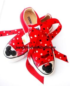 Or maybe I'll just get those red converse I've always wanted and disney-fy them.  Just not this much.