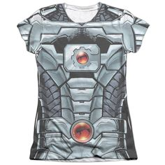 """Checkout our #LicensedGear products FREE SHIPPING + 10% OFF Coupon Code """"Official"""" Jla/cyborg -s/s Junior Poly/cotton T- Shirt - Jla/cyborg -s/s Junior Poly/cotton T- Shirt - Price: $24.99. Buy now at https://officiallylicensedgear.com/jla-cyborg-s-s-junior-poly-cotton-t-shirt-licensed"""