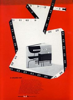 """Herman Miller Collection"" Catalogue Ad, Designed by Irving Harper, 1952"