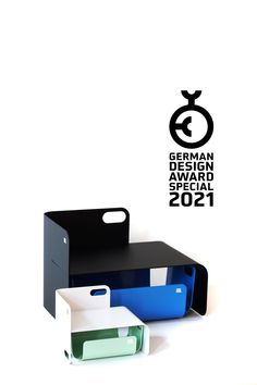 We are happy to announce that our UNIUNIT has won the German Design Award Special 2021 | A BIG thank you to the German Design Council and the jury. The official announcement will launch in mid. November. The UNIUNIT is a sophisticated #storage solution and a unique #design piece for your #desk or on top of your drawer chest for example for smartphones or things that sometimes carelessly cause trouble on your desk or just to highlight something #beautiful like on a stage.