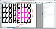 """Objekte mit """"Modifizieren"""" verändern - Silhouette Tipps & Verpackungs Ideen von Jette"""